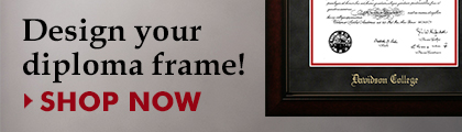 Design your diploma frame at Jostens