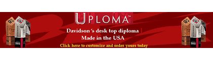 Davidson Uploma Customization and Ordering