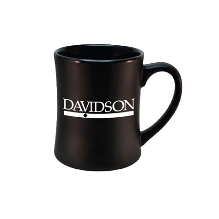 Image For Davidson Etched Black Matted Mug