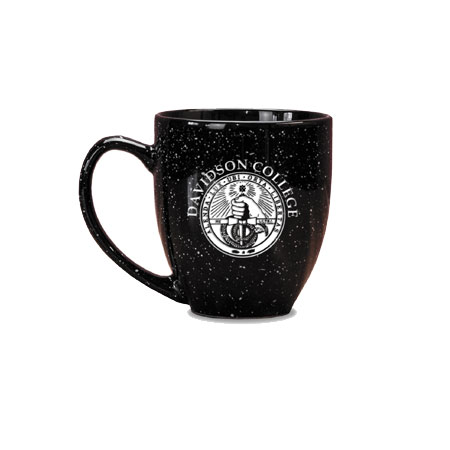 Image For Mug Bistro Black-Davidson College Over College Seal