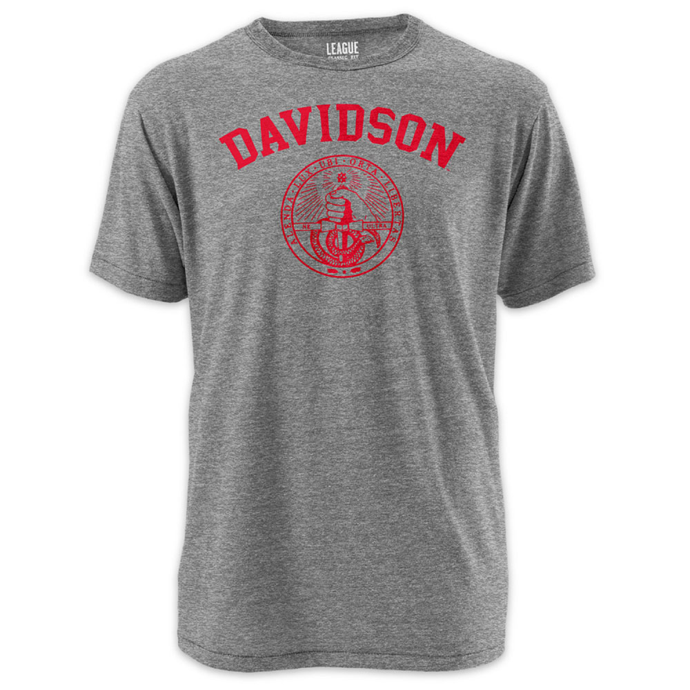 Image For T SHIRT VICTORY FALLS - OXFORD - DAVIDSON COLLEGE OVER SEAL