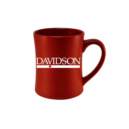 Image For Davidson Etched Red Matted Mug