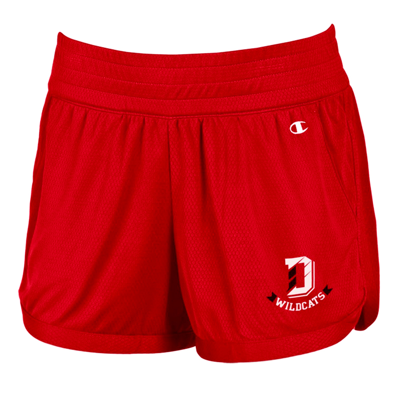 Image For Women's Red Endurance Short