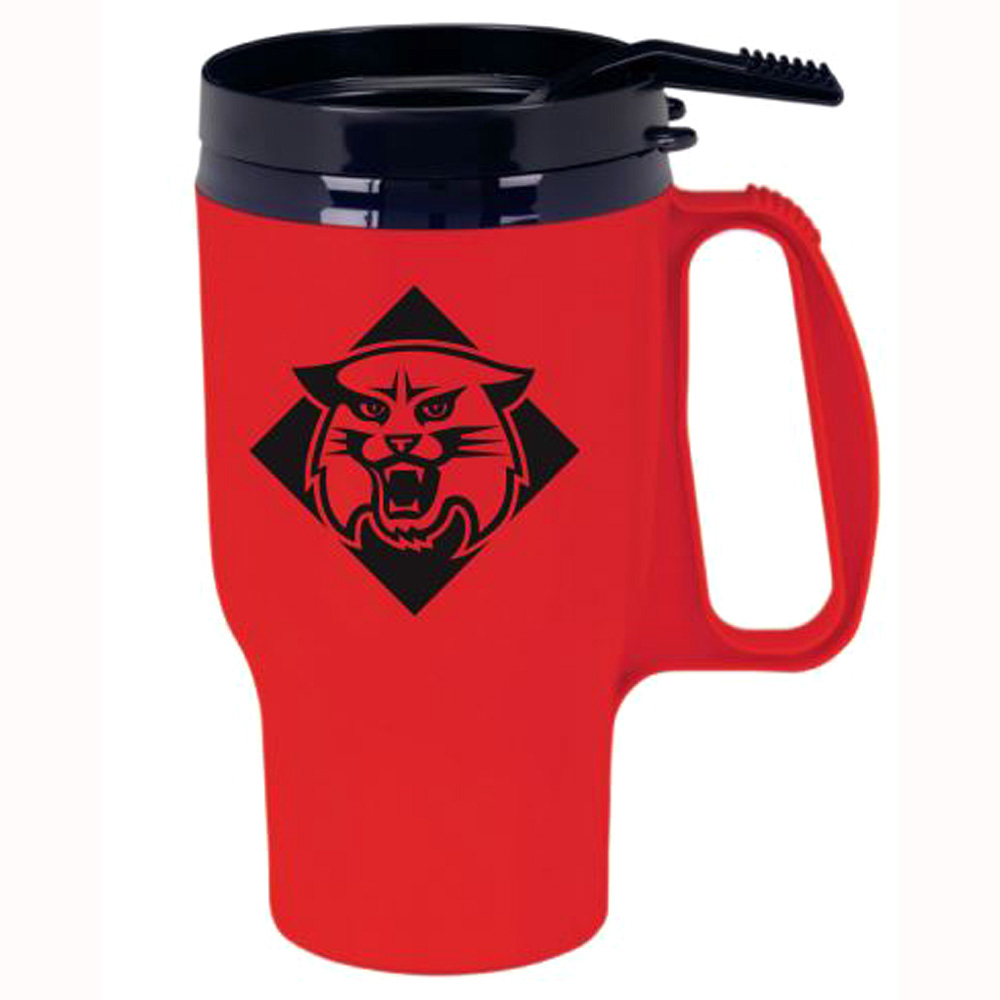 Image For Traveler Red Mug With Handle