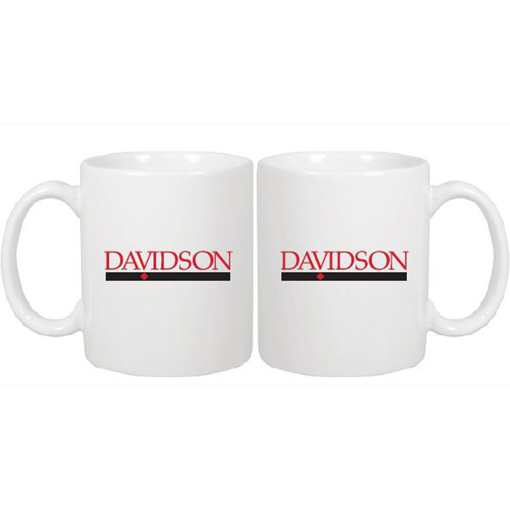 Image For Mug White Traditional-Bar Diamond Logo