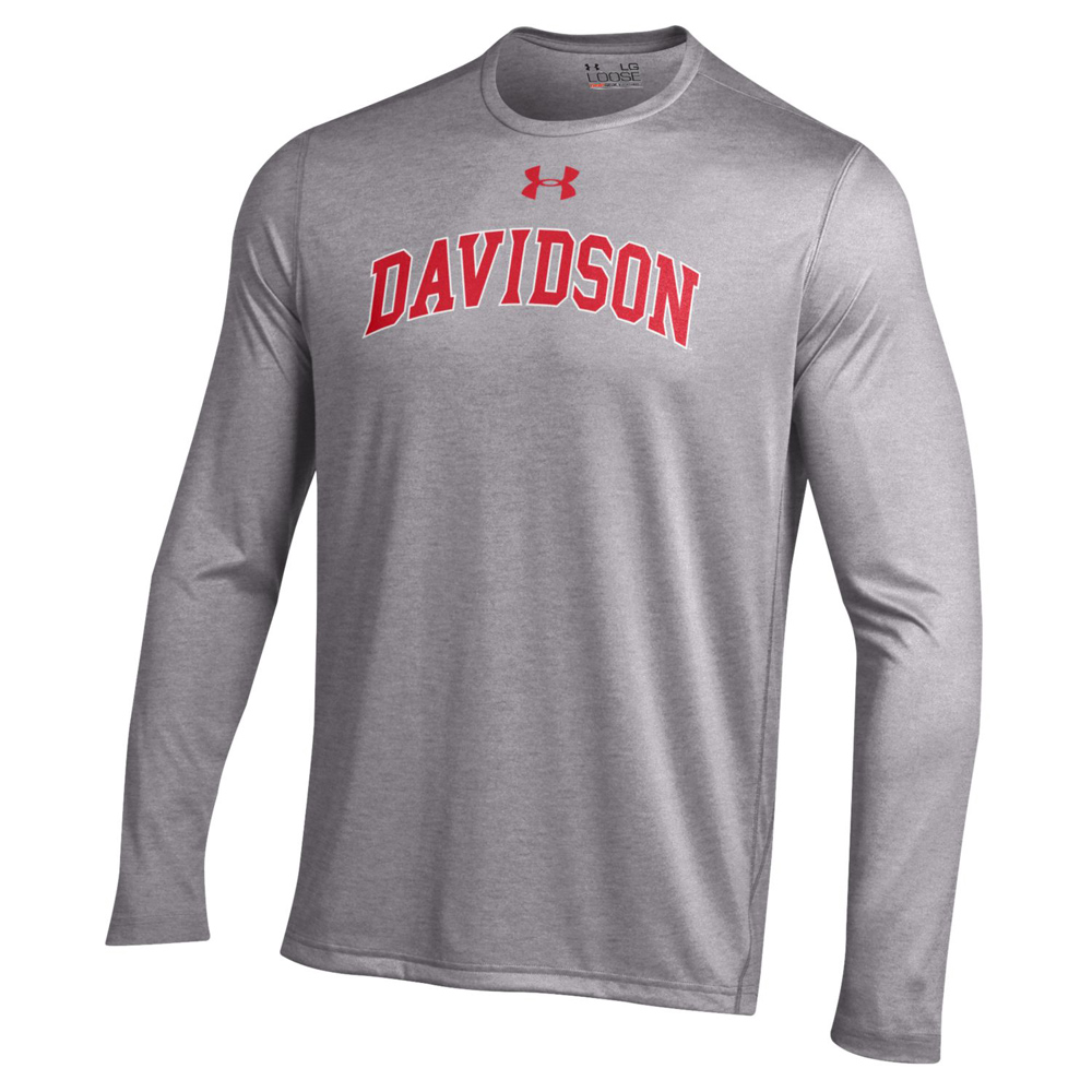 Image For Long Sleeve T Shirt Tech Grey-Davidson Arched
