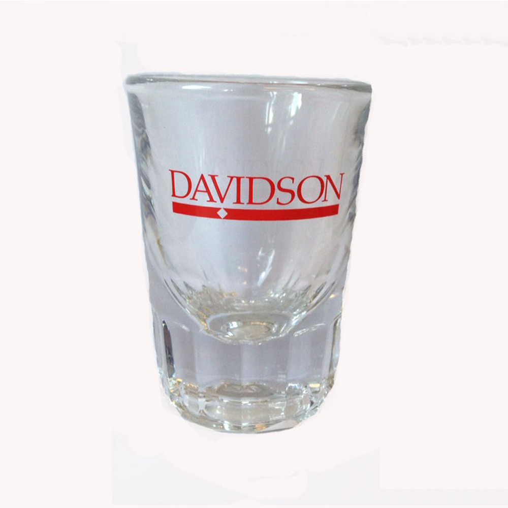 Image For Shot Glass 2oz-Davidson Bar Diamond Logo