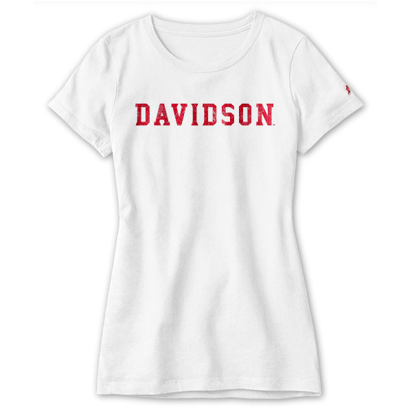 Image For WOMEN'S FRESHY WHITE TEE-DAVIDSON