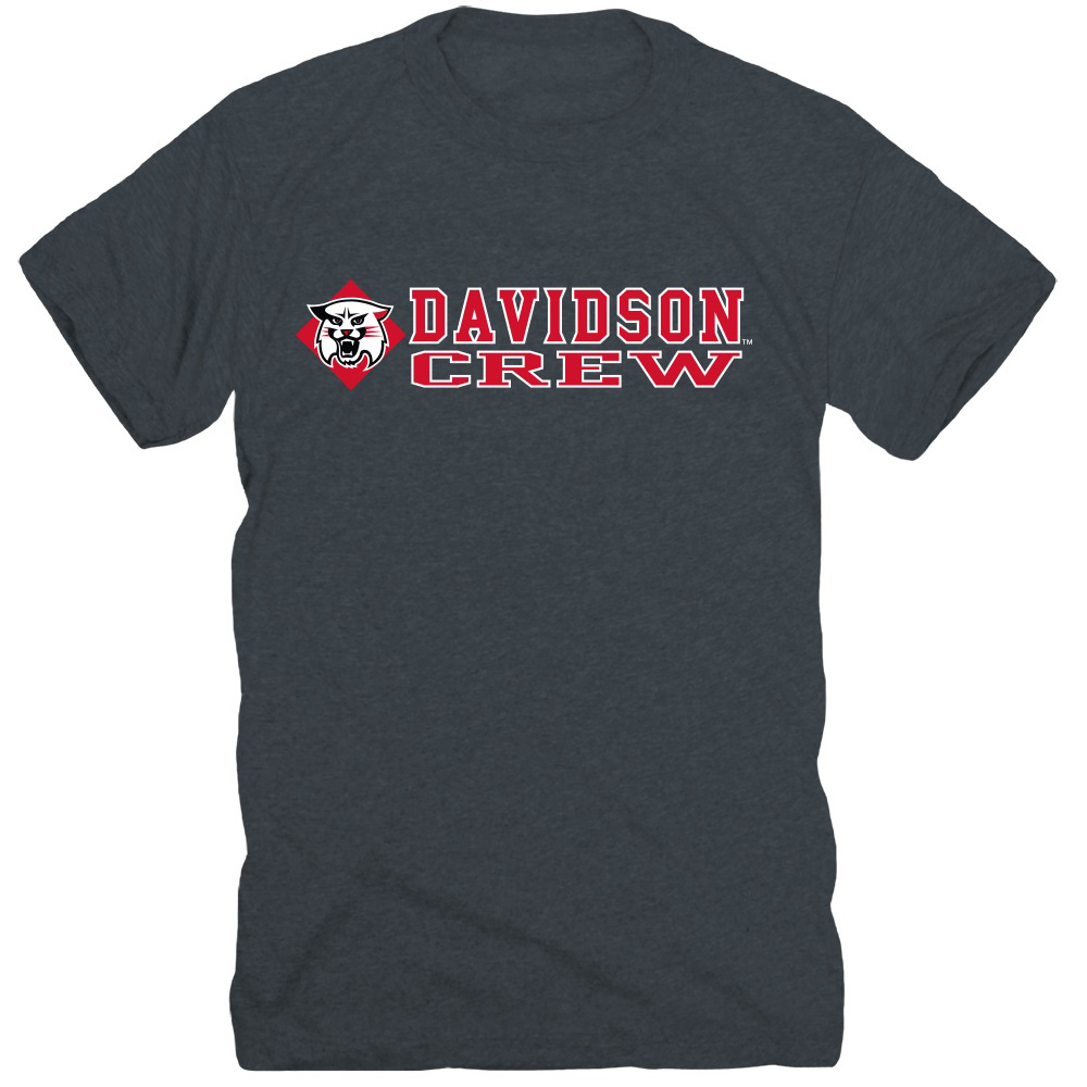 Image For T Shirt Davidson Sport Crew