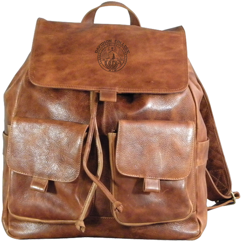 Image For Leather Backpack