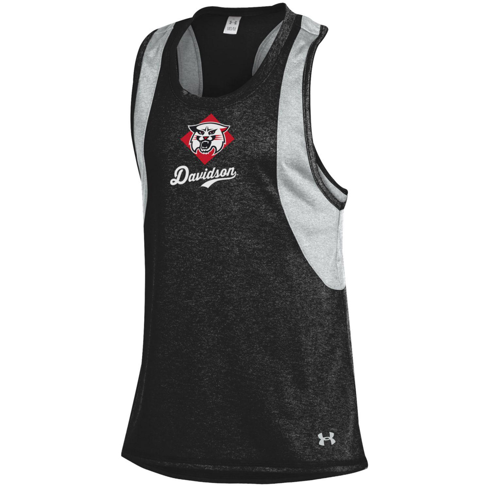 Image For Youth Girls Quick Pass Charcoal Tank