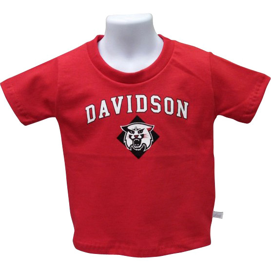 Image For Infant T Shirt Red-Davidson Over Wildcat