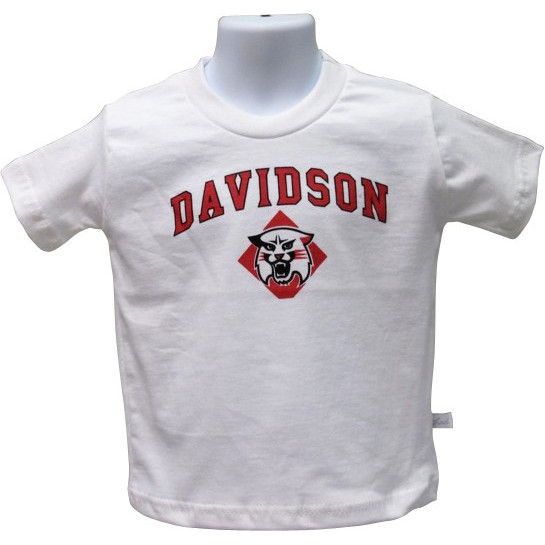 Image For Infant T Shirt White-Davidson Over Wildcat