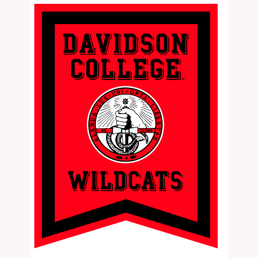 "Image For 18"" X 24"" Pennant - Red - College Seal"