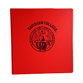 "Image For Davidson Binder 1 1/2"" Red"