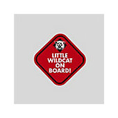 Image For Decal Little Wildcat On Board