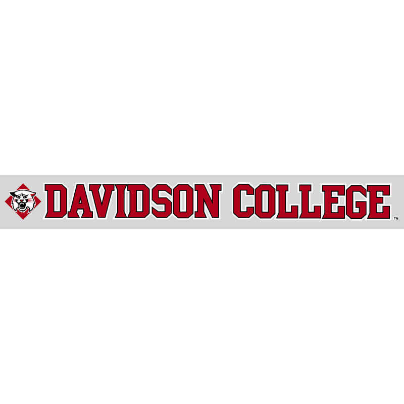 "Image For Decal 16"" Wildcat With Davidson College 16-09"