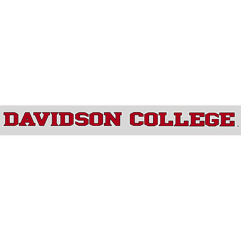 "Image For Decal 16"" Davidson College 18-05"