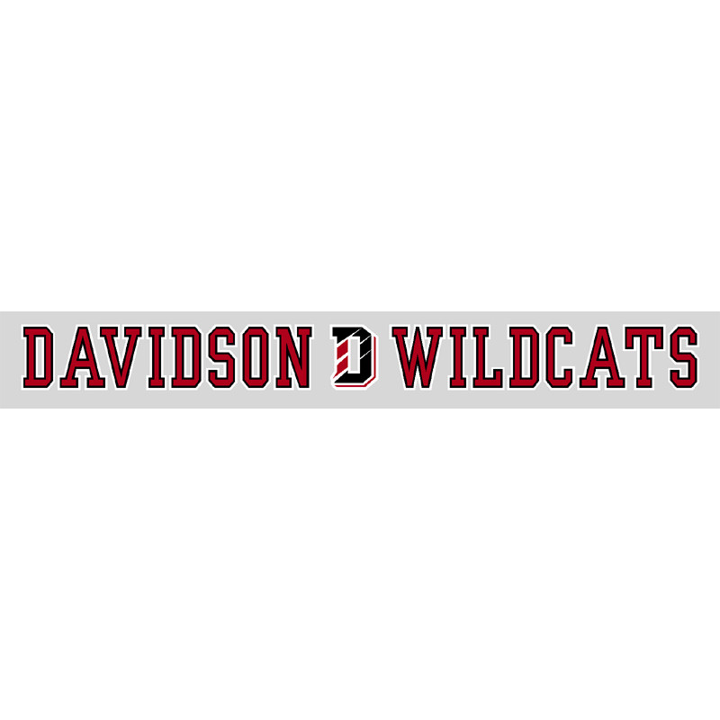 "Image For Decal 16"" Davidson D Wildcats 16-07"