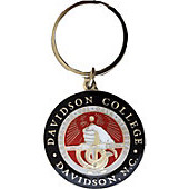 Image For Key Tag Nickel Plated - College Seal Logo