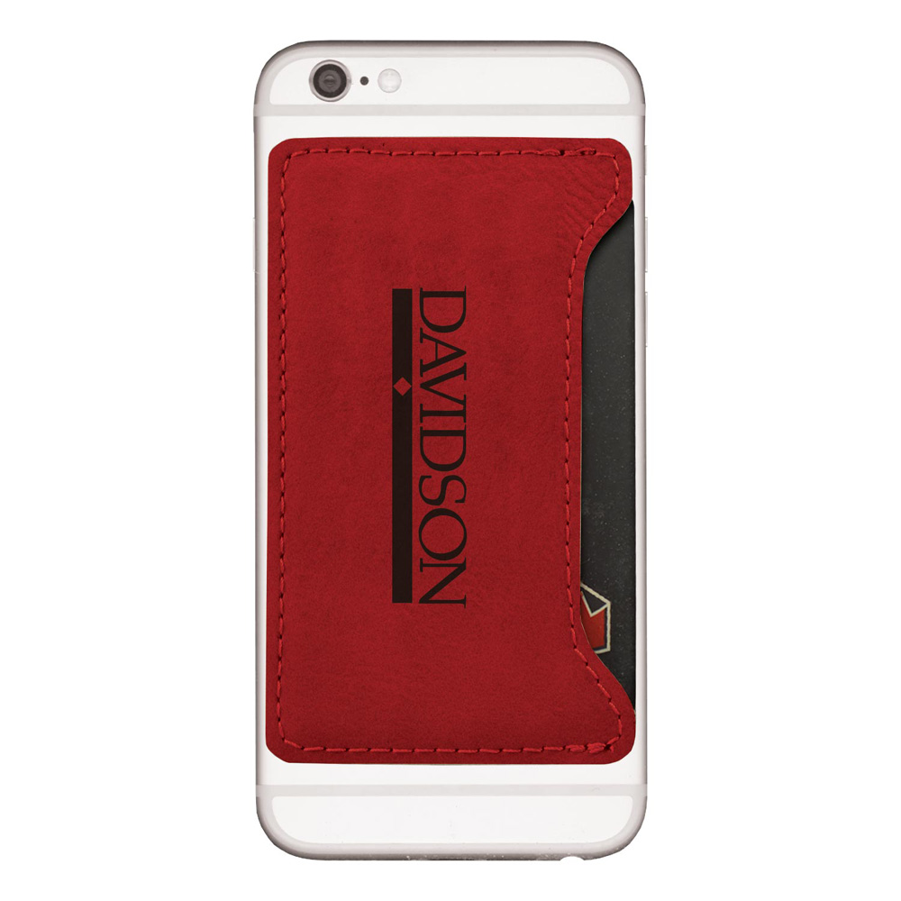 Image For Cell Cardholder Red