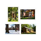 Image For Note Cards Four Pack Assorted Seasons