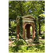 Image For Single Note Card Old Well In Summer