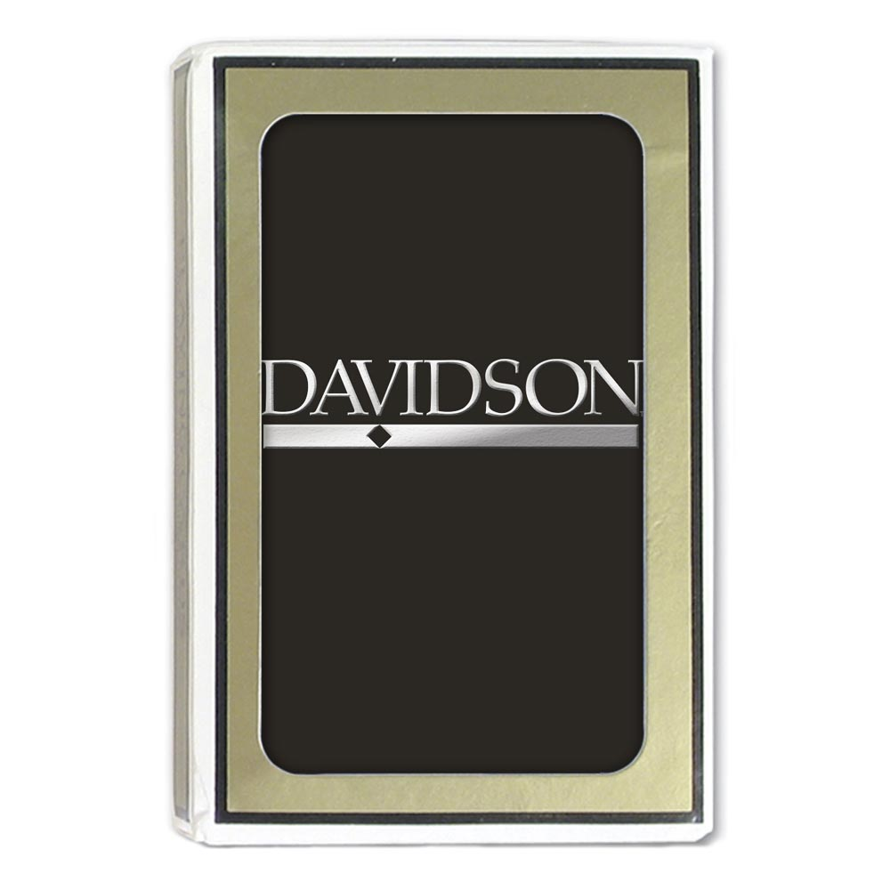 Image For Davidson Playing Cards Black