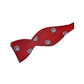 Image For Bow Tie Red With College Seals