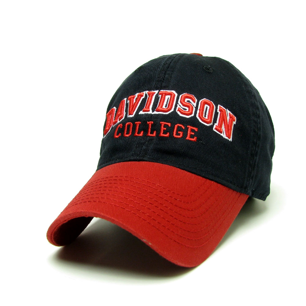 Image For Hat Black With Davidson College