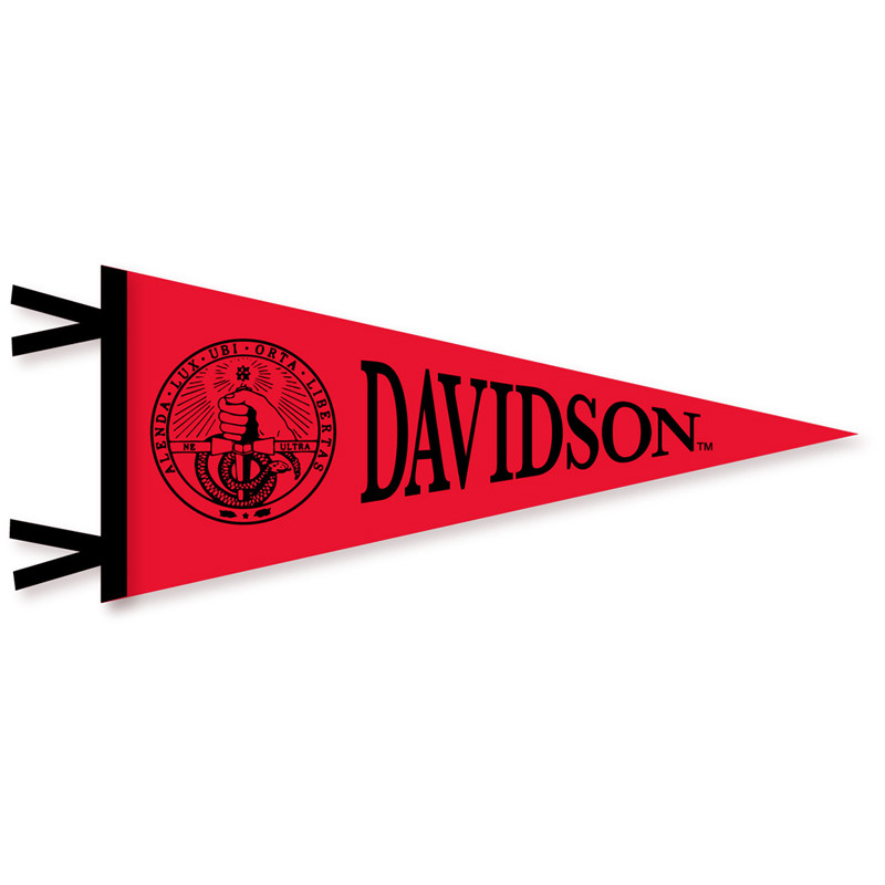 Image For Pennant - Red - College Seal