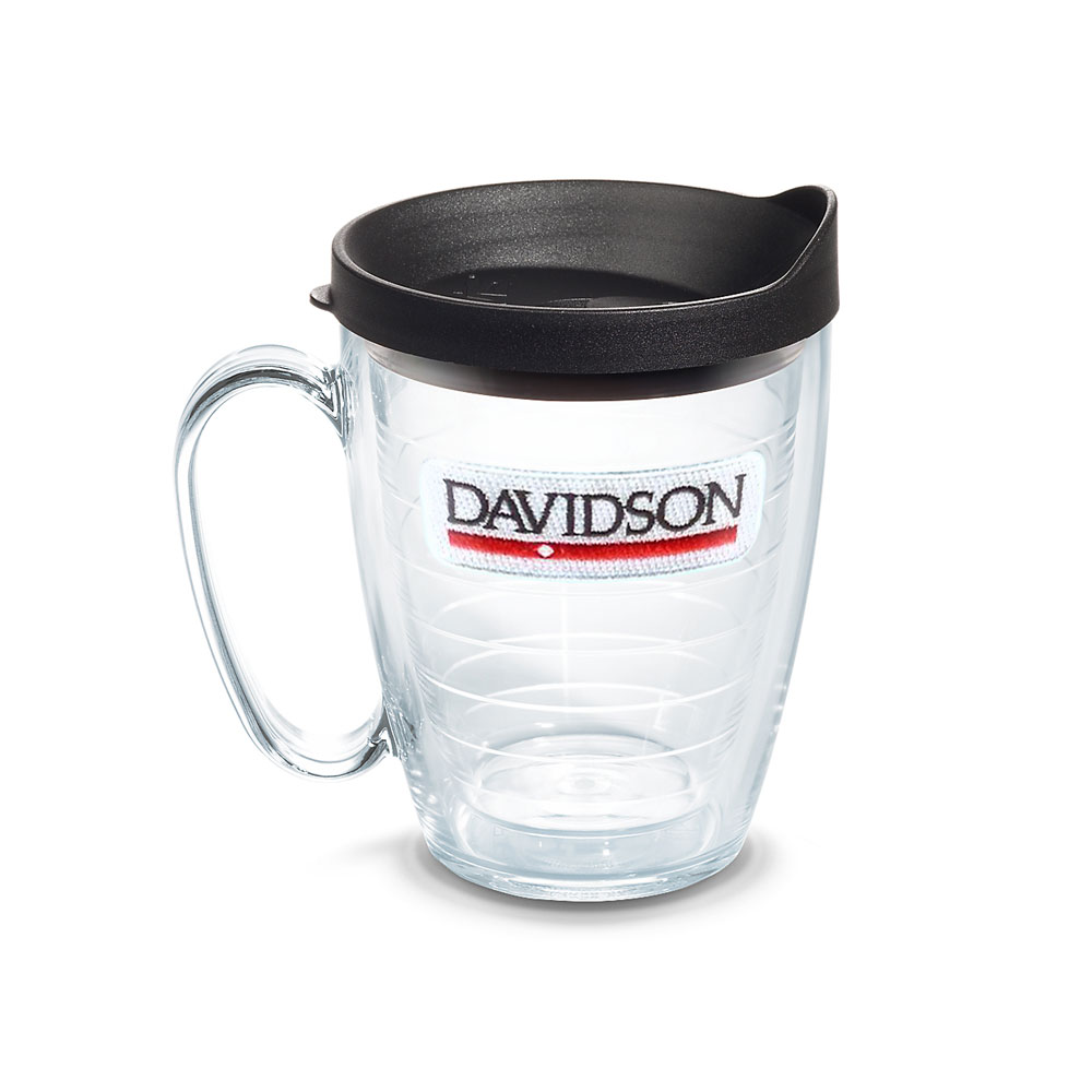 Image For Tumbler Mug, 16oz Davidson Bar & Diamond With Black Lid