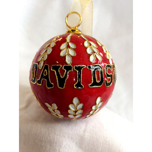 Image For Ornament - Red – Davidson