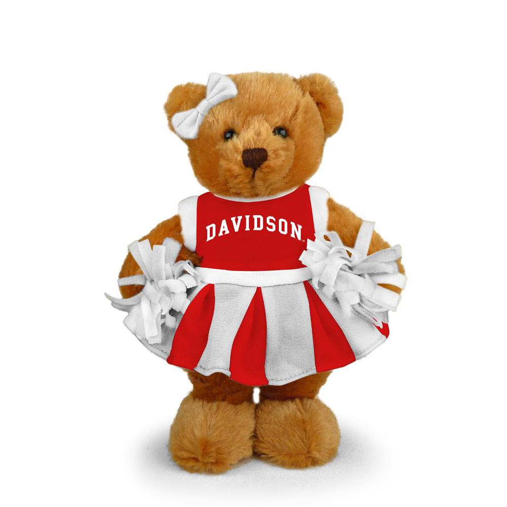 Image For Davidson Cheer Bear