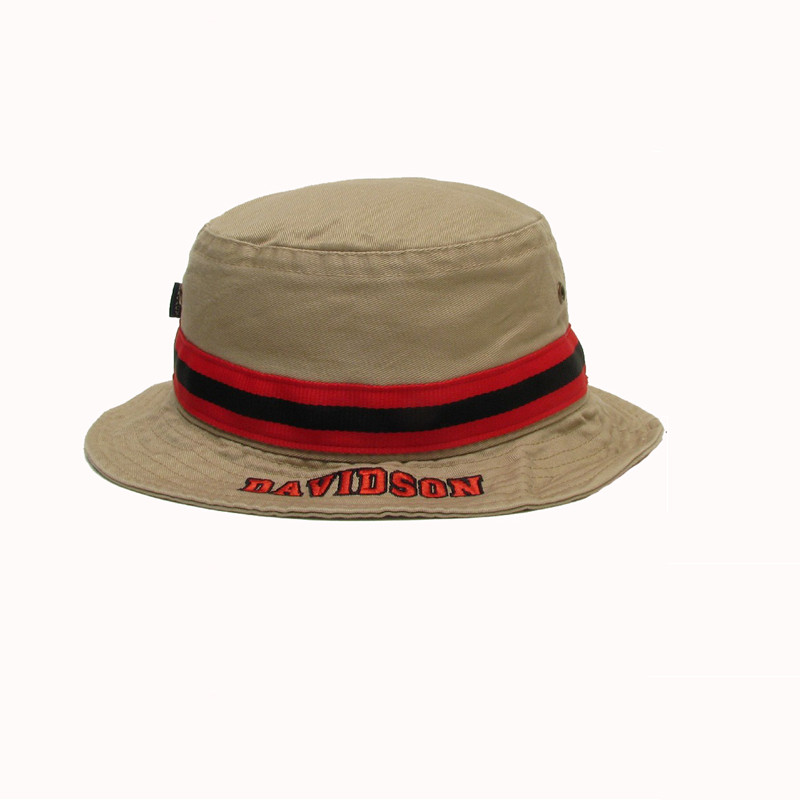 Image For Youth Bucket Khaki Hat  Size XL Only