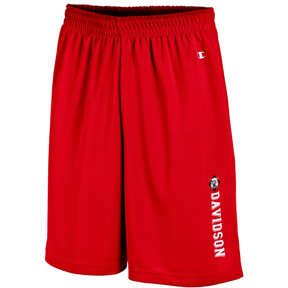 Image For Shorts Mesh - Red - Wildcat-Davidson