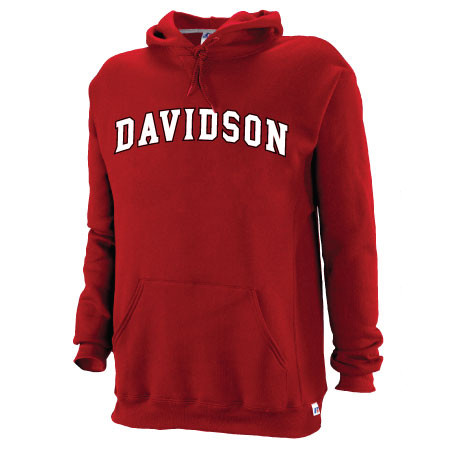 Image For Sweatshirt Hood Red-Davidson Arched