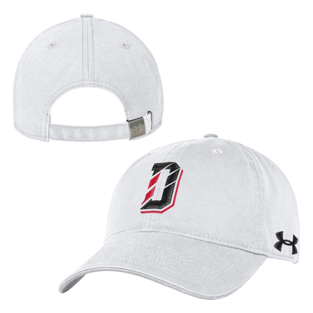 Image For Hat White Washed Cotton With D