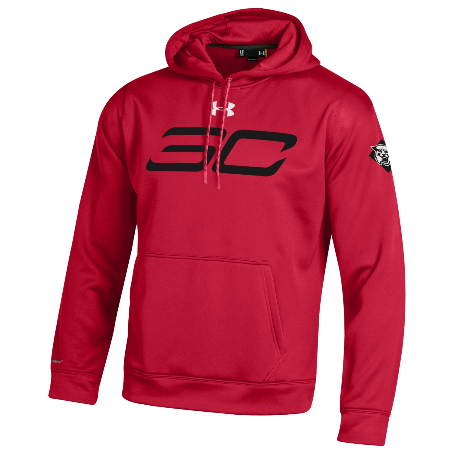 Image For Women's Red SC30 Fleece With Hood
