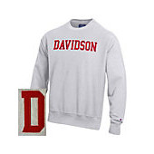 Image For Sweatshirt – Reverse Weave Crew – Davidson Arched
