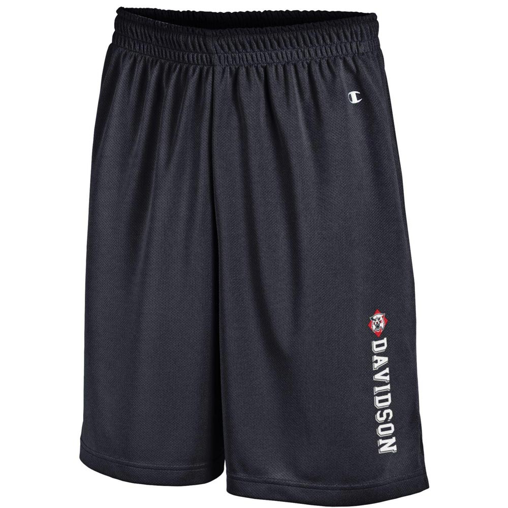 Image For Shorts Mesh - Black - Wildcat-Davidson