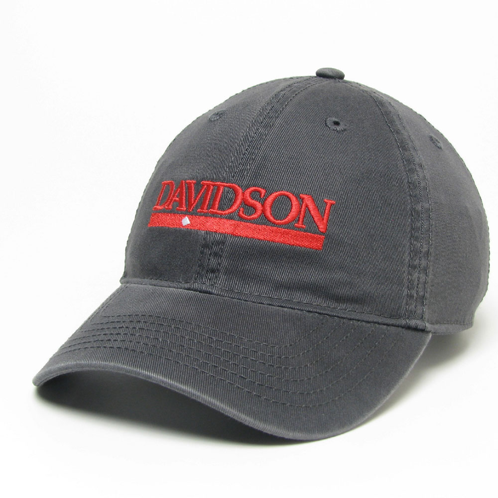 Image For Hat Davidson Bar Diamond Dark Gray