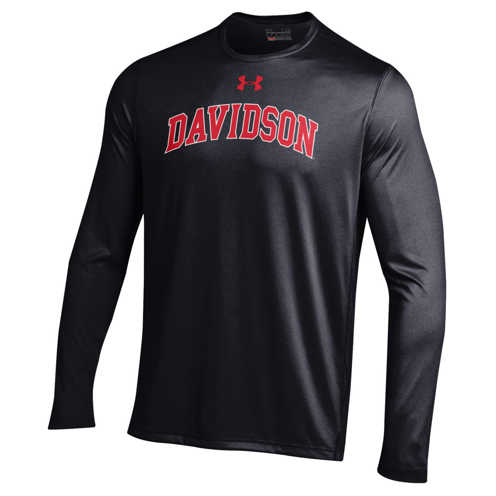 Image For Long Sleeve T Shirt Tech Black-Davidson Arched