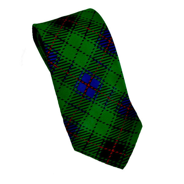 Cover Image For Tie Tartan Plaid