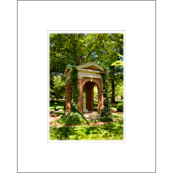 "Image For 8""X10"" Davidson Old Well In Spring Print With Mat"