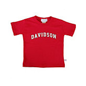 Image For Infant T Shirt Red-Davidson Arched