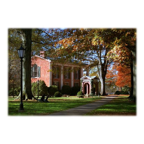 Image For Single Note Card Old Well & Phi Hall