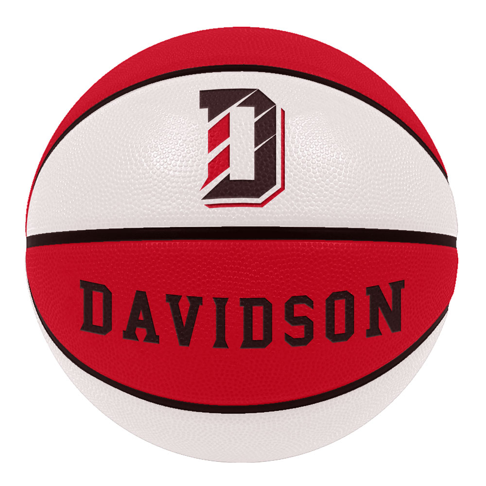 Image For Davidson Red & White Basketball