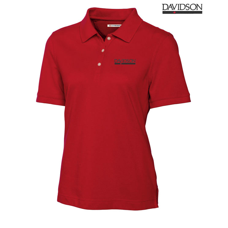 Image For Women's Red Polo