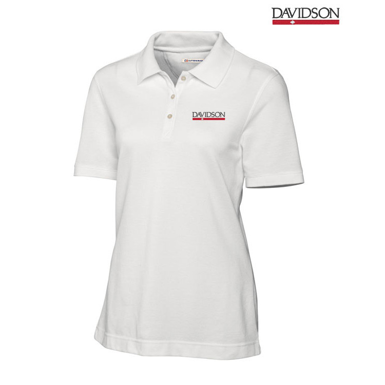 Image For Women's White Polo
